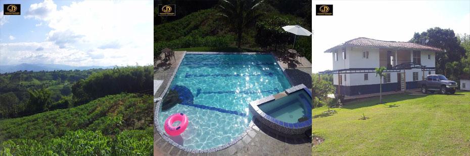 acerca del sector vendo hermosa finca de recreo en el quindo con piscina jacuzzi al aire libre terraza balcones area de bbq